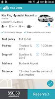 Screenshot of Skyscanner – Car Rentals