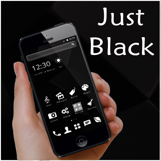 Black and White Theme (app)