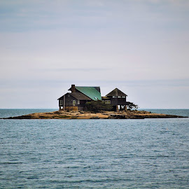 Island Home  by Bill Curran - Buildings & Architecture Homes ( home, lifestyle, ocean, view, island )