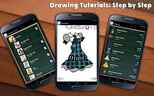 Game Draw Dresses for Girls APK for Windows Phone