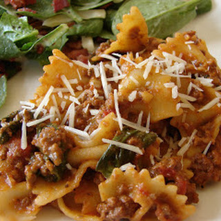 Italian Bowtie Pasta With Ground Beef Recipes