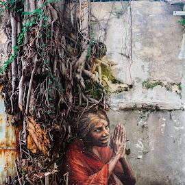 Mural by Budiawan Hutasoit - City,  Street & Park  Street Scenes ( georgetown, wall art, street art, art, penang, murals, malaysia, mural )