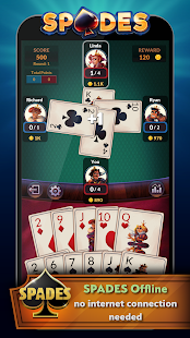 Spades - Offline Free Card Games for pc