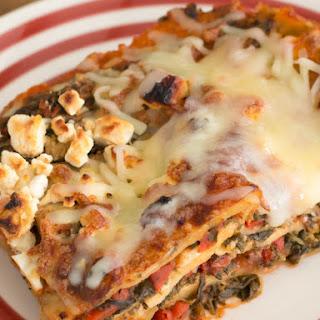 Chicken Spinach Feta Lasagna Recipes