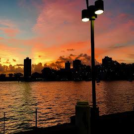 Sydney Sunset by Angela Taya - Novices Only Landscapes ( sunset sydney iphone sky )