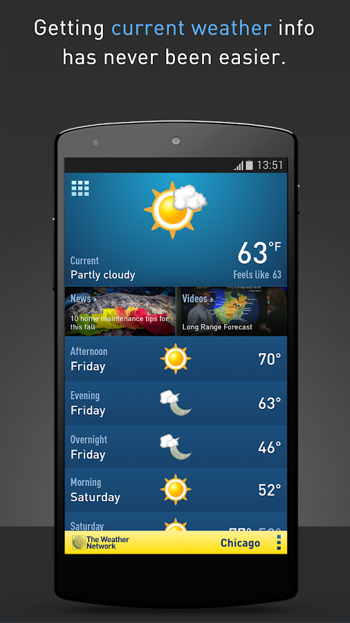 The Weather Network Screenshot 0