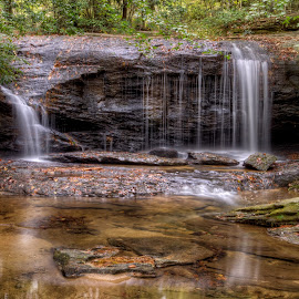 WB-10-2012-05 by Ross Boyd - Landscapes Waterscapes ( upstate, sc, creeks, mountain streams )