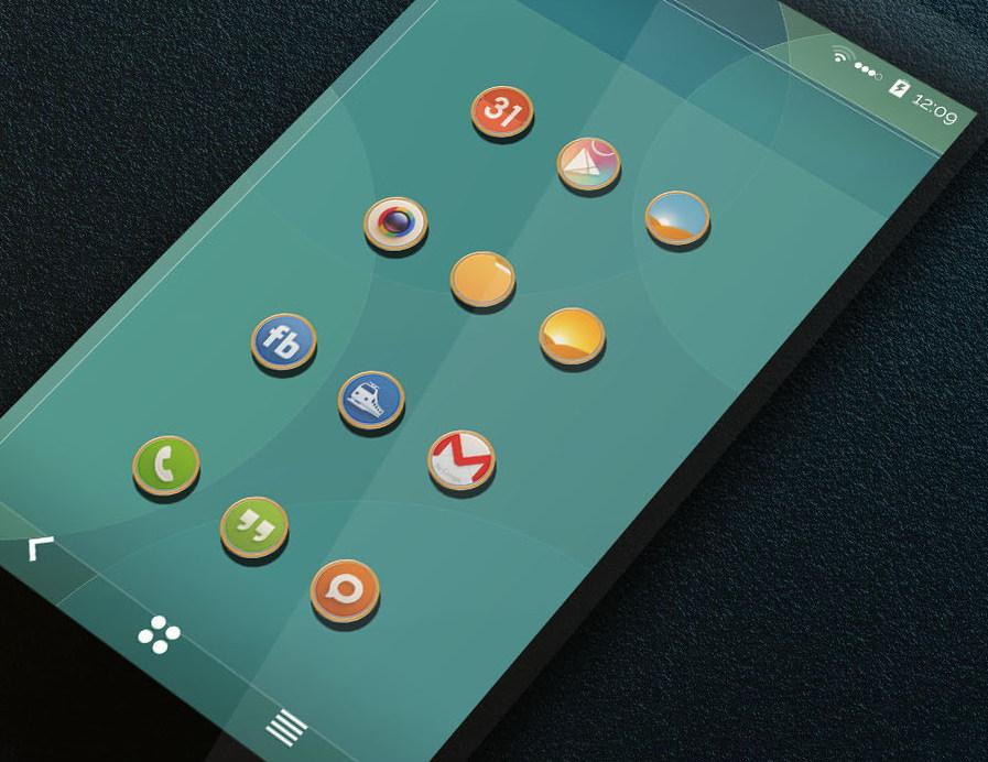 Shadow Themes -Icon Pack Screenshot