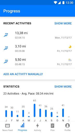 Runtastic PRO Running, Fitness screenshot 2