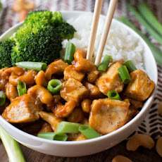 Better Than Takeout Cashew Chicken