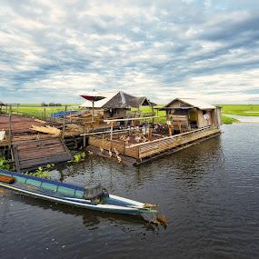 Nagara Villages by Irwan Kairuman - City,  Street & Park  Vistas