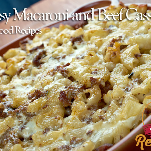 Cheesy Macaroni and Beef Casserole
