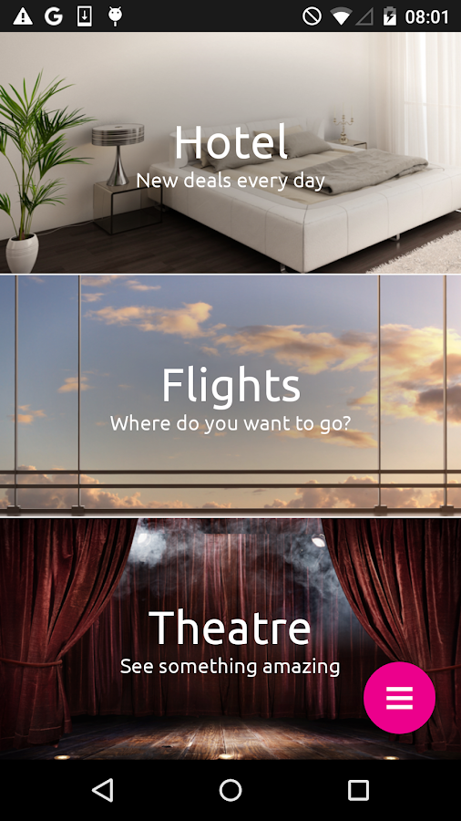 lastminute.com hotel & flights Screenshot 0