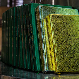 Religious books in Mosque by Pierre Tessier - Artistic Objects Other Objects ( jakarta,  )