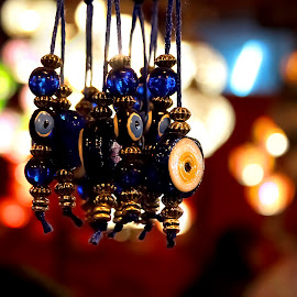 Hanging Relics by Aritra Nath - Novices Only Objects & Still Life ( colorful, artistic objects, fair, close up, objects )