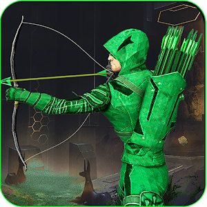 Green Arrow Superhero-The arrow shooter games 2018