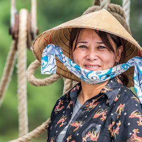 Returning Home by Shutter Bay Photography - People Portraits of Women ( woman, beauty, smile, people, culture, asian )