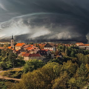 miriši na kišu by Vedran Bozicevic - Landscapes Weather ( croatia, weather, landscape, storm, slunj,  )
