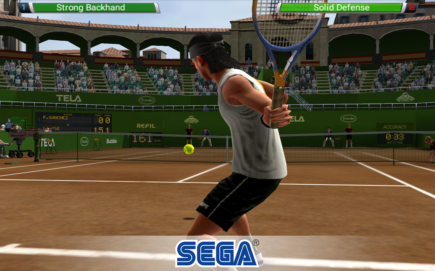 Virtua Tennis Challenge Screenshot 8
