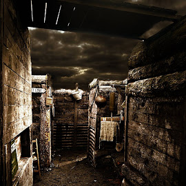 The Trench by Stephen Davis - Digital Art Places (  )