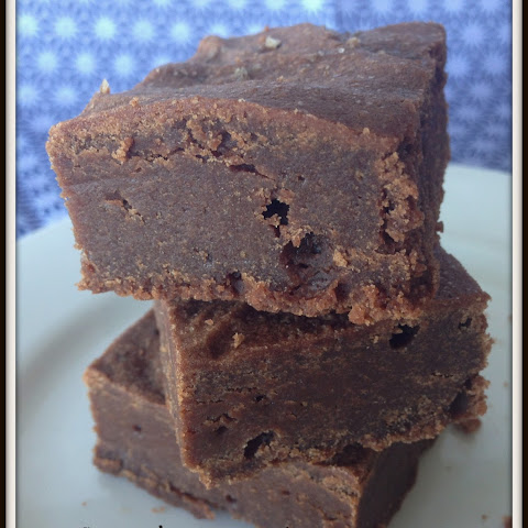 Dark Chocolate Espresso Brownies With Vanilla Salt