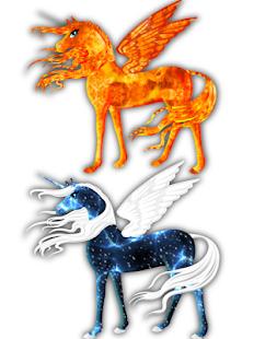 Little Unicorn Runner Horse Decoration Salon APK for Bluestacks