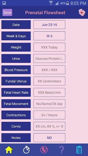 Step by Step Pregnancy Care - screenshot