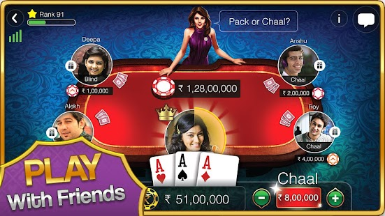Game Teen Patti Gold APK for Windows Phone