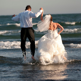 Kennebunkport Maine Trash the Dress by Kim Chapman Dionne - Wedding Reception ( wedding, trash the dress )