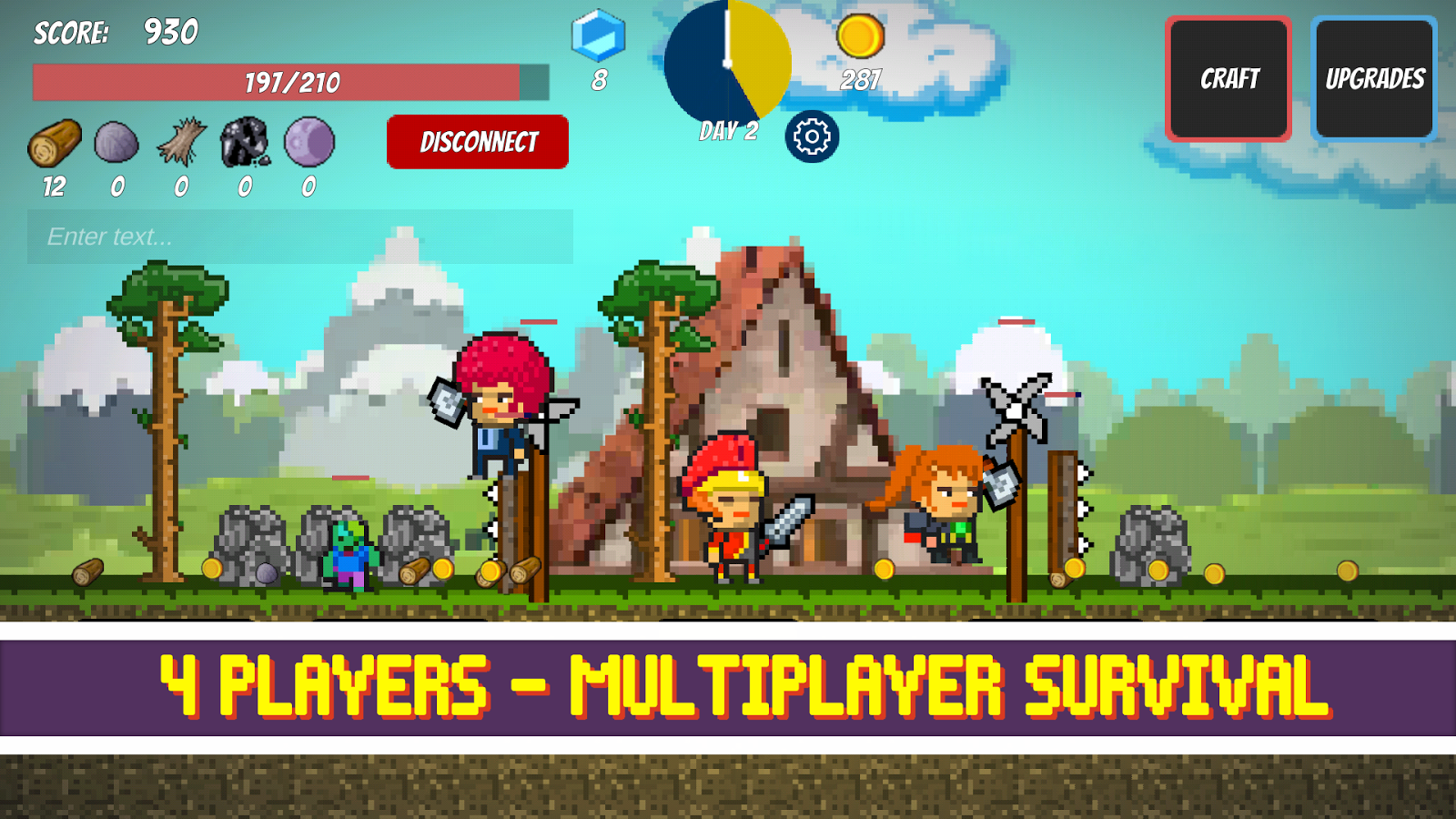 Pixel Survival Game Screenshot 0