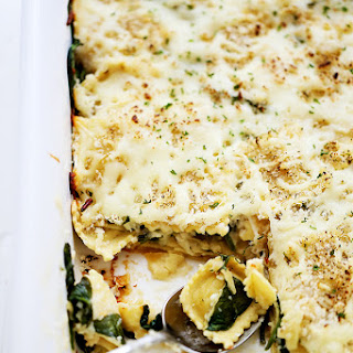 Spinach Ravioli Lasagna Alfredo Sauce Recipes