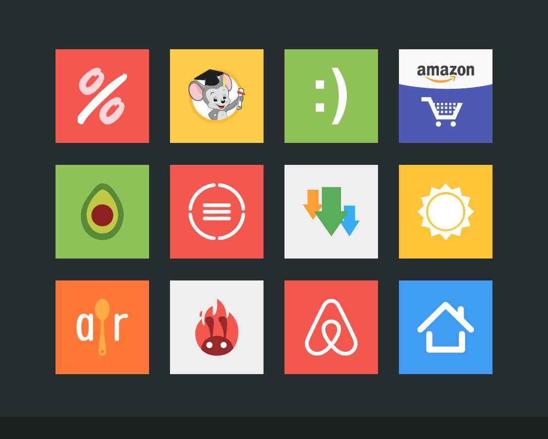 Flatout Minimal IconPack Theme Screenshot 7