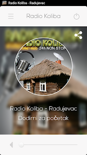 Radio KOLIBA - Vlaški Radio Screenshot