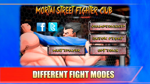 Mortal Street Fighter Club For PC