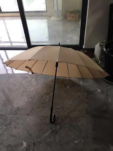 Зонт трость L, бежевый