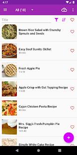 My Recipes Cookbook : RecetteTek for pc