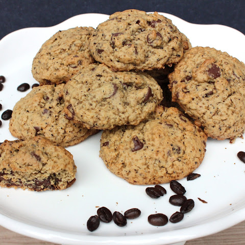 Chocolate Chip Coffee Cookies – Gluten Free & Vegan