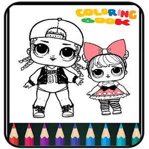 Coloring Book Dolls - Easy Drawing For PC / Windows 7/8/10 / Mac – Free Download