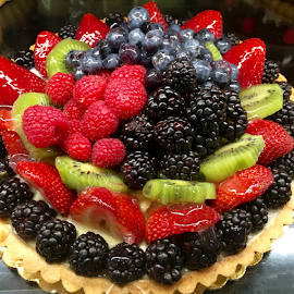 Fruit Tart by Lope Piamonte Jr - Food & Drink Candy & Dessert