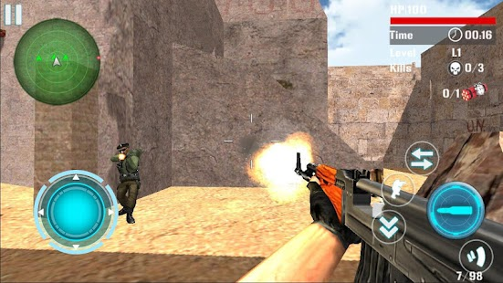Game Counter Terrorist Attack Death APK for Windows Phone
