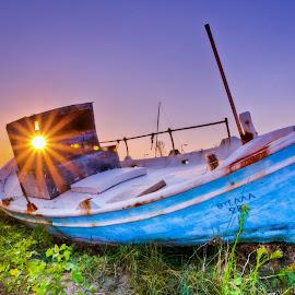 Sunset in Greece by Eduard Andrica - Uncategorized All Uncategorized