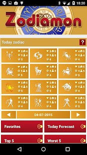 Zodiamon (horoscope, zodiac) - screenshot