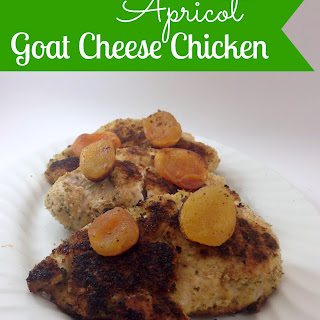 Apricot Goat Cheese Chicken