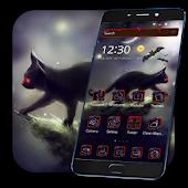 App Night Black Cat Theme APK for Windows Phone