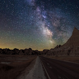 by Aaron Groen - Landscapes Starscapes ( south dakota )