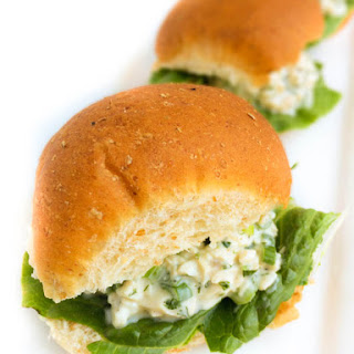 Chicken Salad Sliders {Mad Men Premier Giveaway!}