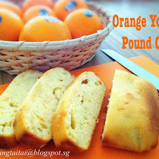 Orange Yogurt Pound Cake