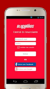 BluCarros – Central - screenshot