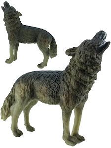 """Игрушка-фигурка серии """"Город Игр"""", волк M2, воет, серый"""