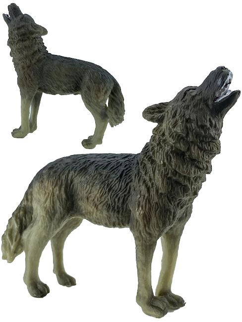 Фигурка, Коллекционная, Мир Диких Животных, IQ WW, S3, Волк